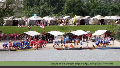 G.G.Arche Kft. Sárkányhajó Európa-Bajnokság 2009. | Tábori ágy bérlés, pótágy kölcsönzés