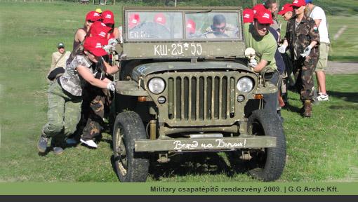 G.G.Arche Kft. military csapatépítő tréning | Tábori ágy bérlés, pótágy kölcsönzés