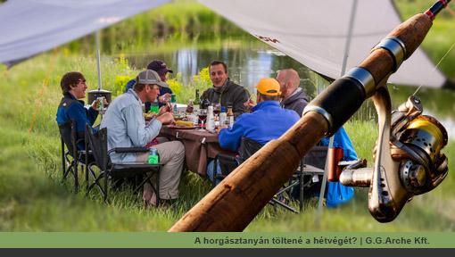 A horgásztanyán töltené a hétvégét? Tábori ágy bérlés | G.G.Arche Kft.